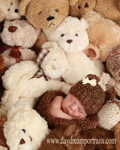 Baby Cocoon and Bear Hat Set in Barley Brown  Photo by PhylPhil