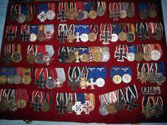 Quite the bunch of random German medal bars