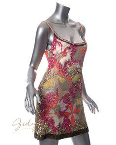 Gidget Loves This All Saints Spitalfields US Size 8 / UK 12 Chaztec Sequin Mini Dress #GidgetLovesFashion #Spring #Dress #AllSaints