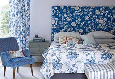 Decoración en azul y blanco | Decorar tu casa es facilisimo.com