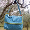 Le sac de piscine du printemps d'un jour de pluie (où le cours de piscine avait été annulé pour cause de classe punie ) - Fée Niasse !