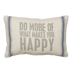 Rustic Do More Accent Pillow