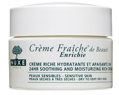 STAFF-TESTED BEST FACE CREAMS: Nuxe Crème Fraîche de Beauté Enrichie; Estée Lauder Perfectionist CP+R Wrinkle Lifting/Firming Serum; Aveeno Ultra-Calming Daily Moisturizer with SPF 15; Elizabeth Arden Visible Difference Skin Balancing Lotion SPF 15; Anew Clinical Pro Line Eraser Treatment; Biotherm PureFect Skin Pure Skin Effect Hydrating Gel; Garnier Moisture Rescue Refreshing Gel-Cream for Dry Skin; Burt's Bees Intense Hydration Night Cream.
