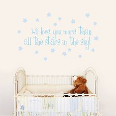 All the Stars in the Sky - Quote - Wall Decals Stickers Graphics