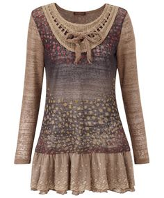 LC640 - Marvellous Mosaic Tunic - Marvellous Mosaic Tunic, Women's Dresses and Tunics, Womens Clothing, Clothing, Accessories, Joe Browns
