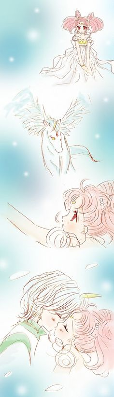 Chibiusa&Helios until we meet again