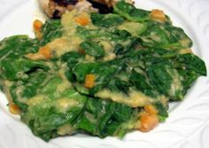 Spinach with Lentils