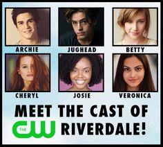 Meet the Cast of The CW's 'RIVERDALE' Pilot! – Archie Comics