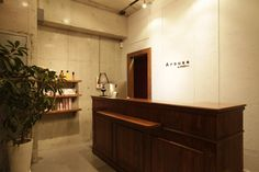 Beauty salon interior design ideas | + hair + space + decor + designs + Tokyo + Japan | Follow us on https://www.facebook.com/TracksGroup <<<【Arouse by afloat レセプション】 美容室 内装