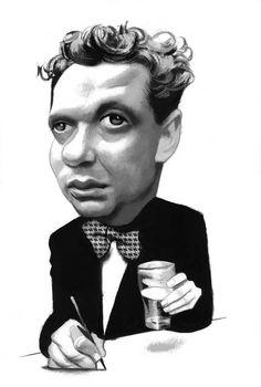 Dylan Thomas Fernando Vicente Illustration