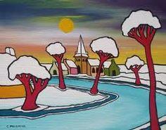 Toon Tieland City Folk, Winter Painting, Children's Book Illustration, Illustrations, Urban Sketchers, Arts Ed, Dutch Artists, Childrens Books, Folk Art