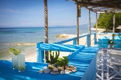 Nefeli Villas and Suites Beautiful Villas, Beach Bars, Fishing Villages, Luxury Villa, Countryside, Table Decorations, Modern, Home Decor, Luxury Condo