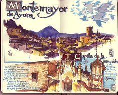 de vuelta con el cuaderno: Cuaderno Muaré (1. Valencia) Montemayor de Ayora