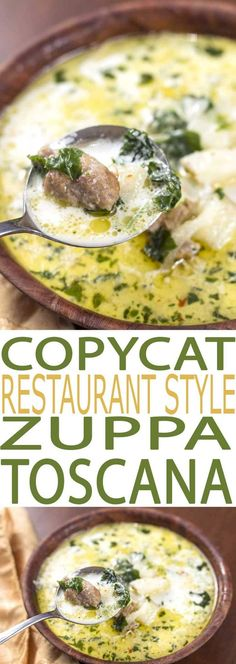 Zuppa Toscana Soup is a flavorful recipe that's both easy to eat and to make. It is filled with healthful kale, a superfood full of essential nutrients. #souprecipe #soup #kalerecipes #kale