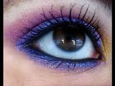 Image result for tribal inspired eye makeup