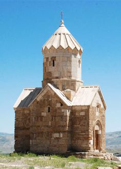 Saint Mary's Historic Church (zur zur) in West Azerbaijan Province, Iran