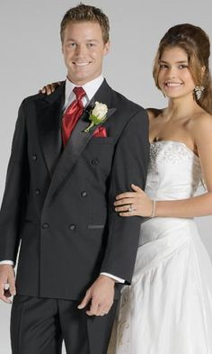 Tuxedo Rentals - Rent Formal Wear - Style 11: Doni Barassi Double-Breasted Peak