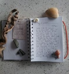 A journal entry and some beach/river finds from the week Journal Entries, River, Beach, Cards, The Beach, Journal, Beaches, Maps, Playing Cards