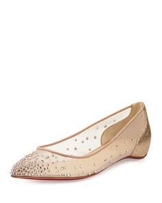 christian louboutin flat wedding shoes 2f9df6fe44b3