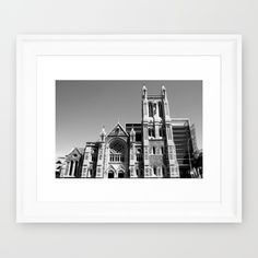 Photography, Church, Landscape, City of Churches, Monochrome, South Australia.