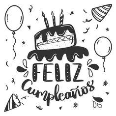 Letras de concepto de feliz cumpleaños v... | Free Vector #Freepik #freevector #cumpleanos