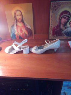 Pantofi cu toc pentru fetițe mărimea 36👠