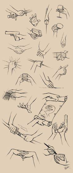 Como Desenhar Mangá: Mãos