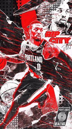 Mvp Basketball, Basketball Videos, Drake Wallpapers, Sports Advertising, Hero Poster, Damian Lillard, Sports Graphic Design, Sports Graphics, Nike Wallpaper