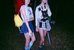 love red girls fashion Cool smoke style hipster vintage friends indie black Grunge skirt 90's urban punk retro sweet teenagers Alternative cigarette togheter