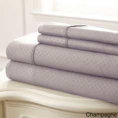 SoHo Embossed Sheet Set | Overstock™ Shopping - Great Deals on Sheets