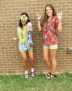 Tropical day spiritweek costume hawaiian my pins pinterest tacky tourist spirit week hawaiian day solutioingenieria Gallery