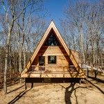 Edgar Papazian renovates pointy wood cabin in the Hamptons