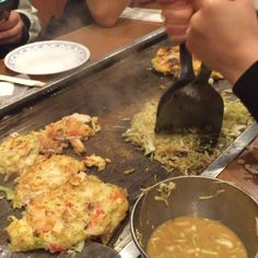 Okinomiyaki~~~ hahah #먹스타그램 #술스타그램 #shinjuku #일식