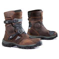 botas de moto FORMA ADVENTURE LOW MARRON | Botas