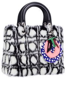 The Lady Dior Bag Gets the Modern Art Treatment