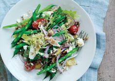Green Bean Salad with Feta and Walnuts