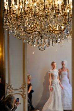 #golden chandelier...