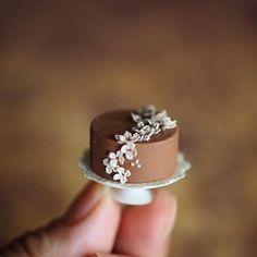 original handmade miniature cake