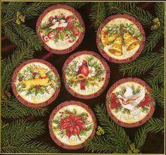 """Милые сердцу штучки: Новогодняя вышивка: """"Рождественские пожелания"""" от Dimensions"""