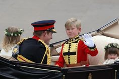 Prince Harry - Royal Wedding - Carriage Procession To Buckingham Palace And Departures