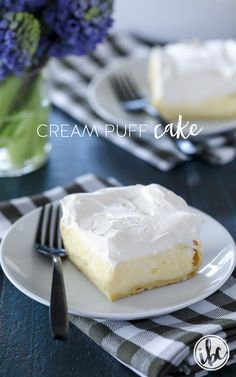 This Cream Puff Cake makes a delicious #dessert #recipe for any #celebration.
