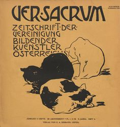 Ver Sacrum('Sacred Spring' in Latin) was the official magazine of theVienna Secessionfrom 1898 to 1903. It pioneered new techniques in graphic design such as the use of modular grid …