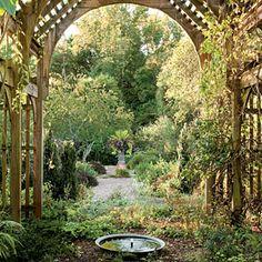 I love gardens... especially historic or cottage gardens.    Historic North Carolina Garden Tour | The Shade Garden | SouthernLiving.com