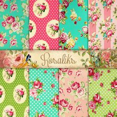 Strawberry cream. Floral Shabby Chic 85x11 Digital by rosaliks, $5.00 Strawberries And Cream, Free Paper, Paradise, Shabby Chic, Strawberry, Printables, Design Ideas, Scrapbook, Quilts