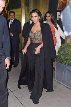 April 22, 2015 - Kim Kardashian Out in New York City.   - ELLE.com
