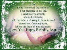 Happy Birthday Jesus Message ~ Happy birthday jesus jesus is the real reas