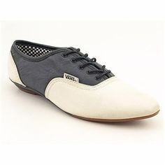 Vans Sophie Oxfords Shoes White Womens - $29.99