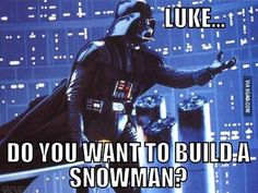 PARODY TIME! STAR WARS: Do You Want to Join Me? Vader: Luke... do you want to…