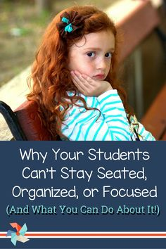 """As the teacher, you might be thinking, """"What can I do right now with this wiggly, disorganized kid?"""" A 2-part series on strategies to help students who struggle with ADHD and executive function deficits. via @adriannemeldrum"""