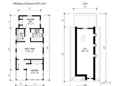 Tumbleweed Tiny House Company Whidbey Small House Plans